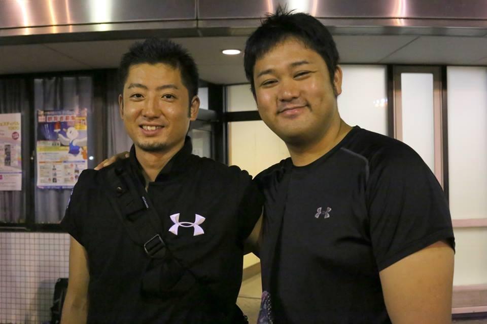 合同会社Quest代表(左)・私(右)